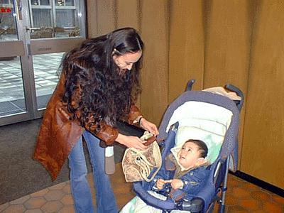 Firuza und Azar Kasimdzhanov Ehefrau und Sohn Rustams