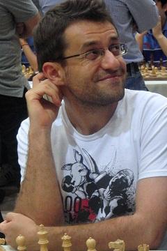 Aronian, Schacholympiade 2012  Foto: Sarah Hund