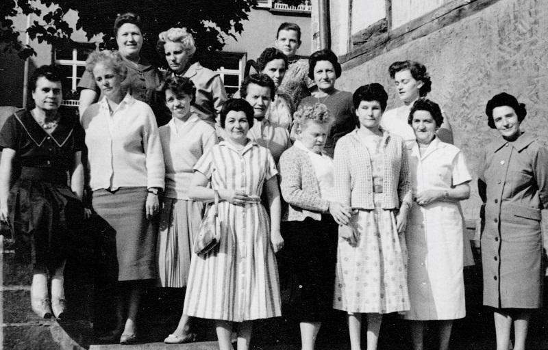 Teilnehmerinnen, 1959